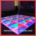 Wlk-1-1 640 pcs leds rgb pista de dança iluminado