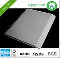 Gris de cartón 1.5 mm carpetas de escritorio gris hojas de papel proveedor