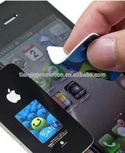 hot custom sticky mobile phone screen cleaner