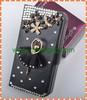 Handmake Diamond Ballet Girl leather case for Iphone 5/5s