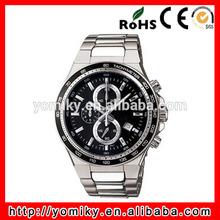 Top quality customized logo water resistant sport men wrist watch speedometer