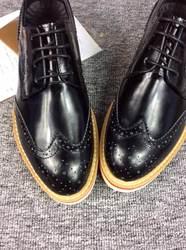 High quality men black leather shoes.europe designer men shoes 2014