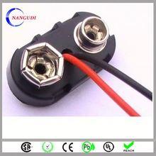 wholesale china electronics 9v battery snap clips