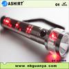 2014 New 500Mah Aluminum Alloy Emergency Solar panel LED Flash Light