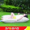 beige cream fashion modern cozy waterproof outdoor beach massage bean bag sofa cushion furniture