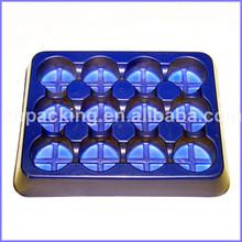PVC plastic chocolate blister tray
