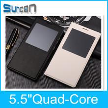 Original smart phoned 5.5inch mobile phone MTK6582 quad Core Androd 4.4 OS 3G telefono celulare mobile smartphone