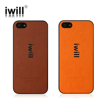 high quality pu leather and pc case for iphone 5 cover
