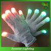 White LED Finger Light Up Gloves for Party Decoration