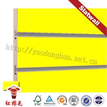 Decoration mdf king/queen wooden slats board for supermarket