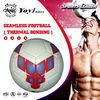 new glue tech,thermal bonded,seamlass laser shine soccer ball