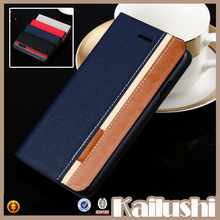 Fashion luxury for iphone 6 leather case,flip leather case for iphone 6