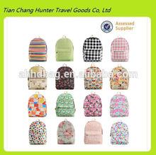 Wholesale teenage backpack laptop bag high school backpack hiking backpack