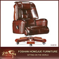 革張りの椅子、 スポーツシートのオフィスチェア、 オフィスの椅子のクッションのa-6018