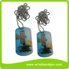 Dog tag laser engraving, dog tag chain, China dog tag manufactory