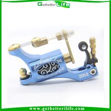 Getbetterlife New Upgrade Aluminum Alloy Rotary Motor Tattoo Machine Gun Blue for shader