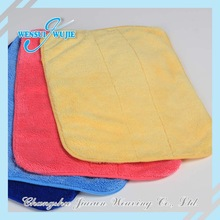 Hot sale high absorption colorful microfiber sex girls bath towel wholesale cleaning towel