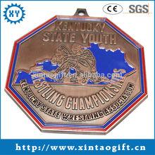 Big Wrestling Championships Custom Sports Medals