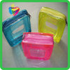 Yiwu China plastic high quality clear pvc bag with zipper
