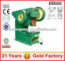 Factory Price Krrass J23-25 power press with CE&ISO,power press machine rates,mechanical power press