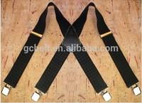 Mens elastic suspenders belt with 5cm width