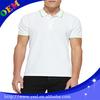 mens plain cotton polyester polo shirt, classic collar men polo shirt china factory