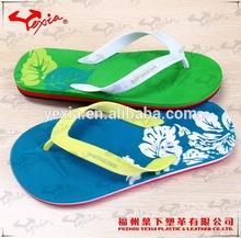 Flat flip flop summer sandals factory wholesale