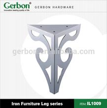 high quality new designed iron sofa legs