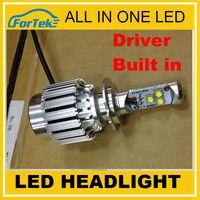 Quick Bright! 30W h7 car led headlight 1800lm