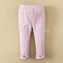 2014 ropa del bebé 100% algodón venta al por mayor polainas del niño del bebé