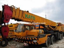 Used Kato NK500E Truck crane, kato crane dealer in China