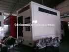Beautiful design the truck mobile cinema 7d equipment 7d simulator system