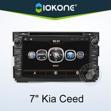 IOKONE special 7'' inch kia ceed radio with free gps maps for windows ce 6.0