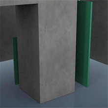 PP construction formwork/Best quality reusable plastic shuttering formwork for square column with CE