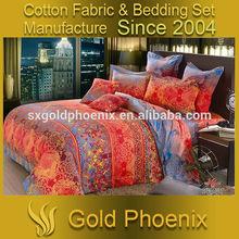 reactive print 100% cotton modern style bedding set