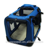 Lightweight fabric large knitted dog carrier