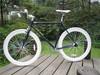 Made In China New Design 26 Inch Aluminum Frame Fixed Gear Bike