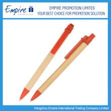 2014 New design nature color fashion popular wooden ball pen