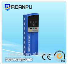 CE proved steel car parking ticket dispenser machine