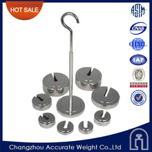 OIML stainless steel, F1, F2, M1 class, slotted weight , easy weigh scales