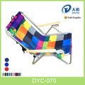 de aluminio plegable silla de playa con almohada