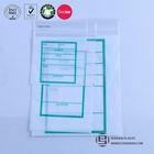 Clear waterproof plastic ziplock packing bags with printing