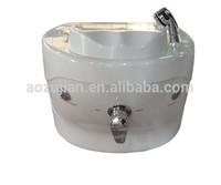 2014 Nail Set--Portable Pedicure SPA MiNi Foot SPA Sink with LED Model: SPA-002