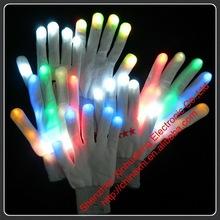 Popular Led Flashing Gloves wholesale festival items