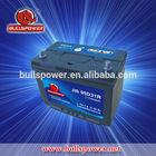New type 12v 80ah mf 95d31l delkor car battery