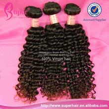 Qualidade cabelo humano remy indiano barato, Indiano cabelo real, Cabelo sintético curly
