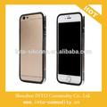 para venta al por mayor accesorios del teléfono celular suave caso de parachoques para el iphone 6
