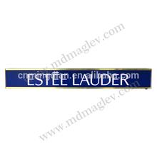 LED acrylic sign/logo stand, acrylic led sign pop display stand,LED customize acrylic logo/sign display