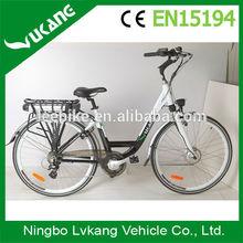 2015 Dutch 700C front wheel motor electric bike exporters