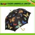 nuevo producto de largo paraguas de madera proceso de fabricación